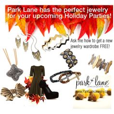Autumn is here...'Holiday Party  Season is just around the corner... by parklanejewelry on Polyvore
