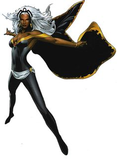 Not only an African Goddess with control of the weather (which comes in quite handy), Storm is also a natural X-Men leader.