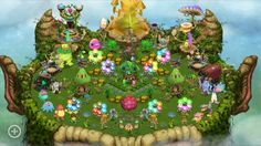 My plant so far! My Singing Monsters, Plants, Plant, Planets