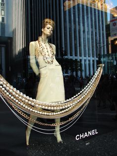 Chanel Window Display Twitter @ThePowerofShoes Instagram @SocietyOfWomenWhoLoveShoes www.SocietyOfWomenWhoLoveShoes.org