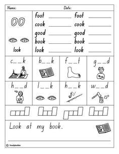 oo like spoon free printable worksheet for kinder or first grade squarehead teachers blog i. Black Bedroom Furniture Sets. Home Design Ideas