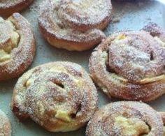 Apfelschnecken aus dem Ofen