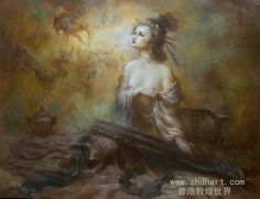 By the artist ~ Zeng Hao.
