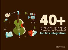 Lesson Plans and Resources for Arts Integration Teaching Theatre, Teaching Music, School Fun, Art School, Advent, Core Curriculum, Arts Integration, Art Worksheets, Project Based Learning