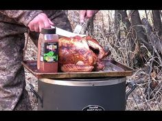 Cajun Fried Turkey In The Char-Broil Big Easy Infrared Fryer