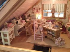 from my dollhouse cottage