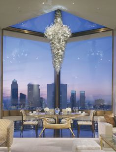 The Ty Warner Suite at The Four Seasons Hotel -- New York, New York