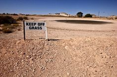 Coober Pedy - South Australia | The only golf course in the world with no  grass