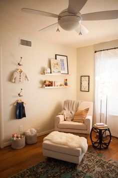 Beckett's Charming Modern Traditional Nursery by @Modern Eve. @Apartment Therapy  #serenaandlily