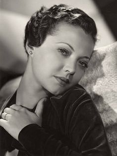 Sylvia Sidney by Clarence Sinclair Bull