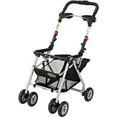 Hands down, the most used, best purchase I made for my baby. If you get the Graco SnugRide carseat, you can get this frame stroller and you just snap the carseat in... it's SO EASY and VERY light!!! $70
