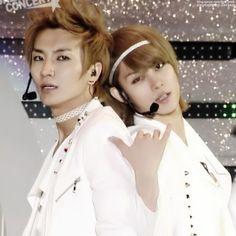 Leeteuk and Heechul.