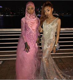 Muslim Fashion, Hijab Fashion, Muslim Prom Dress, Formal Prom, Formal Dresses, African Prom Dresses, Prom Outfits, Black Prom, Hijab Outfit