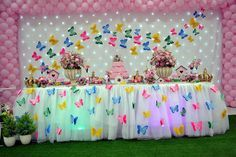 Birthday Crafts, Toy Chest, Sprinkles, Candy, Toys, Biscuit, Paper Butterflies, Butterfly Birthday Party, Expecting A Baby