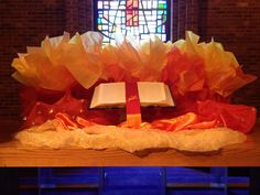 put gifts of spirit in gifts bag and share what's inside with the congregation