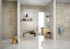 Porcelain stoneware with marble effect: Allmarble by Marazzi