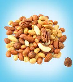 Nuts for Curls / Semillas y granos para un cabello saludable. Protein Snacks, Good Healthy Snacks, High Protein Recipes, Healthy Choices, Healthy Recipes, Eating Healthy, Study Snacks, Food Swap, Food Articles