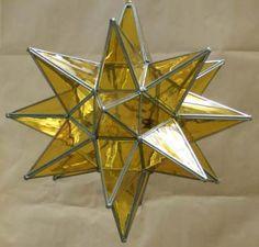 Moravian Star Light, Moravian Star Lamp.