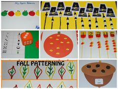 Fall Hands-on #Math for #Preschool and #Kindergarten