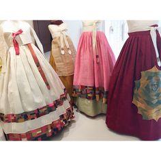 #한복치마 #한복 #바느질풍경 #hanbok #김복희 #dress #sewinglandscape