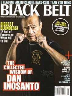 11 Things You Didn't Know About Jeet Kune Do Expert Dan Inosanto - Dan-Inosanto-cover Black-Belt-magazine-January-2013- martial arts news from Black Belt