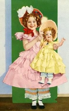 1935 Shirley Temple & Shirley Temple Little Colonel doll