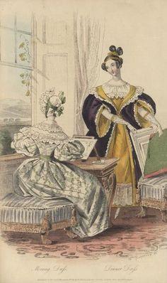 April, 1834 - Morning Dress, Dinner Dress - Court Magazine