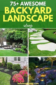 Large backyard landscaping ideas are quite many. However, for you to achieve the best landscaping for a large backyard you need to have a good design. Large Backyard Landscaping, Cheap Landscaping Ideas, Privacy Landscaping, Big Backyard, Backyard Ideas, Boxwood Landscaping, Acreage Landscaping, Backyard Designs, Gardens