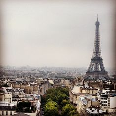 The Eiffel Tower - Paris !