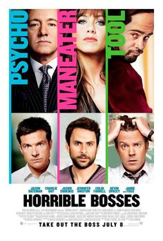 Horrible Bosses - a few good moments but missed a lot of opportunities