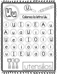 Alphabet Activities, Preschool Activities, Preschool Education, Teaching Spanish, Kindergarten, Homeschool, Classroom, Learning, Kids Learning Activities