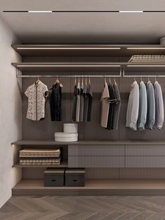 Design your dream closet, and this walk-in wardrobe is a great and excellent choice. Walk In Closet Design, Bedroom Closet Design, Home Room Design, Modern Bedroom Design, Closet Designs, Home Interior Design, Modern Classic Interior, Barndominium Floor Plans, Wardrobe Room