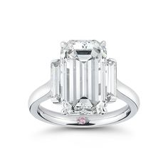 Exquisite and unique diamond engagement rings, diamond jewelry, wedding bands and custom jewelry. Emerald Cut Engagement, Antique Engagement Rings, Emerald Cut Diamonds, Art Deco Ring, Dream Ring, Diamond Are A Girls Best Friend, Beautiful Rings, Ring Designs, Diamond Rings