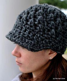 PDF Crochet Pattern Ladies Thermic Beanie by TheYarnChick