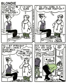 Yes! ALWAYS lift with your knees!!! | Chiropractic Humor ...