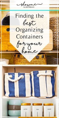 Have a closet, drawer, or cabinet in your home that's always disorganized? Learn how to get and keep small spaces organized in just a few steps. These easy tips are great for organizing the closet, bathroom, or kitchen. #organizing