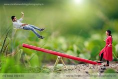 Here Are Few Miniature Wedding Shoot Ideas For Couples To Grab Pre Wedding Shoot Ideas, Pre Wedding Poses, Pre Wedding Photoshoot, Indian Wedding Couple Photography, Creative Wedding Photography, Couple Photography Poses, Micro Photography, Miniature Photography, Couple Photoshoot Poses
