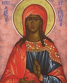Today we celebrate the Holy Great Martyr Christina of Tyre. Saint Christina was born to pagan parents where she grew up praying to false… Pagan, Holi, Growing Up, Mona Lisa, Disney Characters, Fictional Characters, Saints, Disney Princess, Celebrities