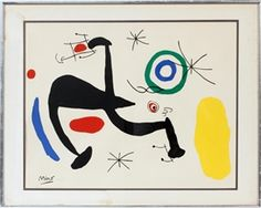 Artwork by Joan Miró, Untitled, Made of color lithograph