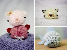 Amigurumi Boneka : Boneka jari mario bros crochet mario bros toy and