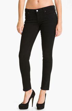 Paige Denim 'Skyline' Ankle Peg Skinny Stretch Jeans  la kate middleton (Black Ink) | Nordstrom