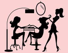 """Adhesivo de vinilo decoración interior de peluquerías """"Salón de Belleza""""04864 - Tienda online de vinilos decorativos, stickers, wall art, decoración"""