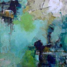 """Daily+Paintworks+-+""""Dream+Life""""+-+Original+Fine+Art+for+Sale+-+©+Elizabeth+Chapman"""