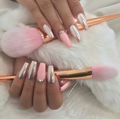 Gorgeous #PinkChrome #ChromePowder