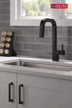 Choose your function with the Junction™ Faucet. #kitcendecor #diykitchendrawer