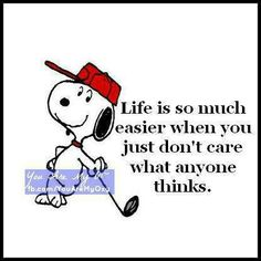 Life Quotes From Snoopy