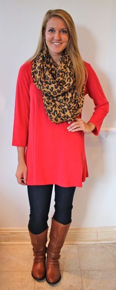 Classic Tunic Dress, Red :: NEW ARRIVALS :: The Blue Door ...