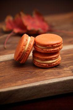 Pumpkin Macaroons #FallIntoAutumn.