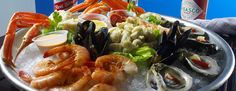 such a beautiful platter! from Coast Seafood and Raw Bar in Buckhead