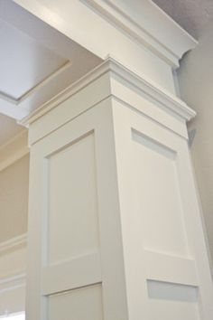 1000 images about crown molding ideas on pinterest for Crown columns